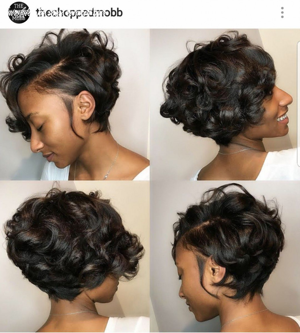 Pin on short relaxed hair cuts hairstyles for short relaxed hair