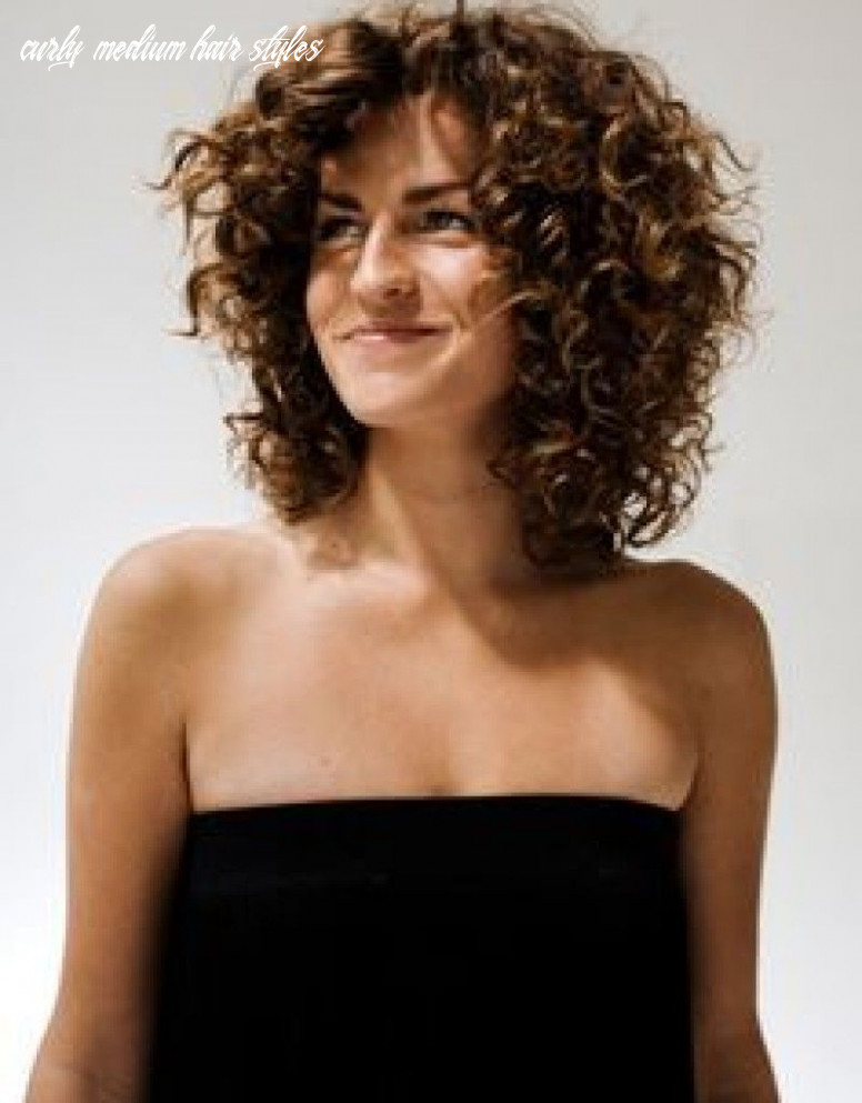 Pin on shoulder length styles curly medium hair styles