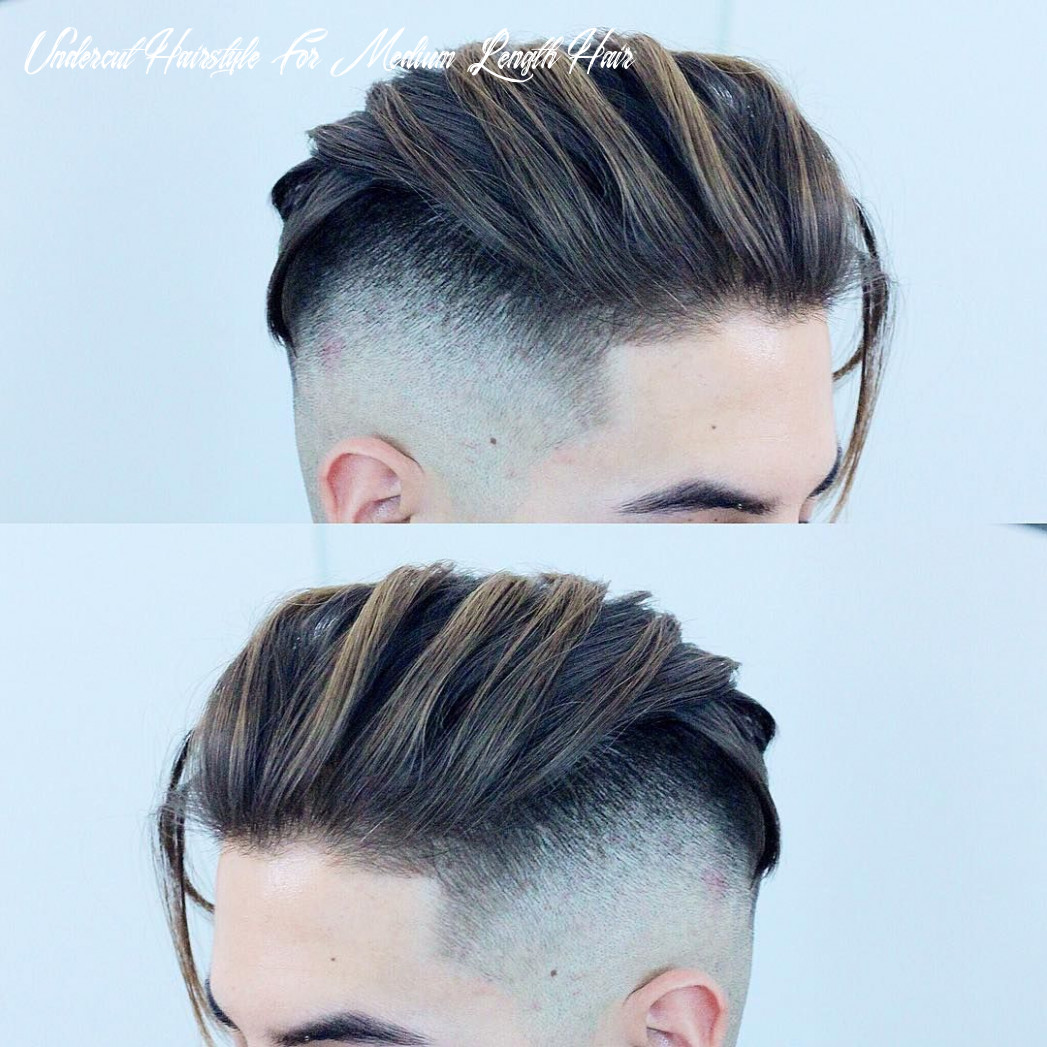 Pin on something new undercut hairstyle for medium length hair