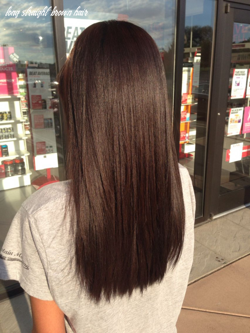 Pin on straight hair long straight brown hair