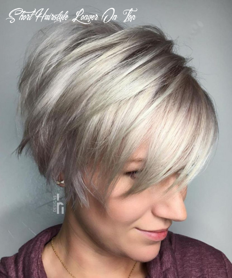 Pin on styles short hairstyle longer on top