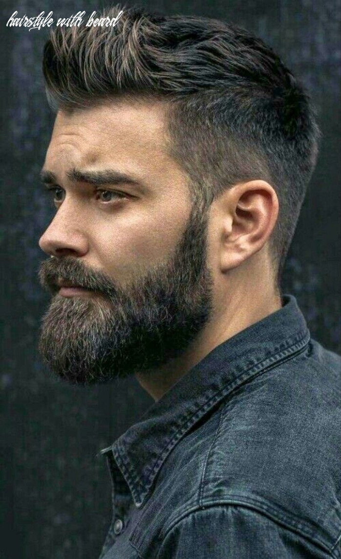 Pin on stylo hairstyle with beard