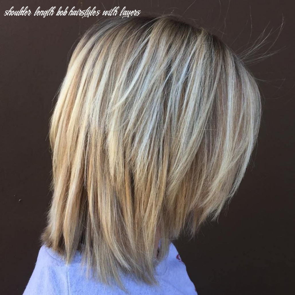 Pin on things i like shoulder length bob hairstyles with layers