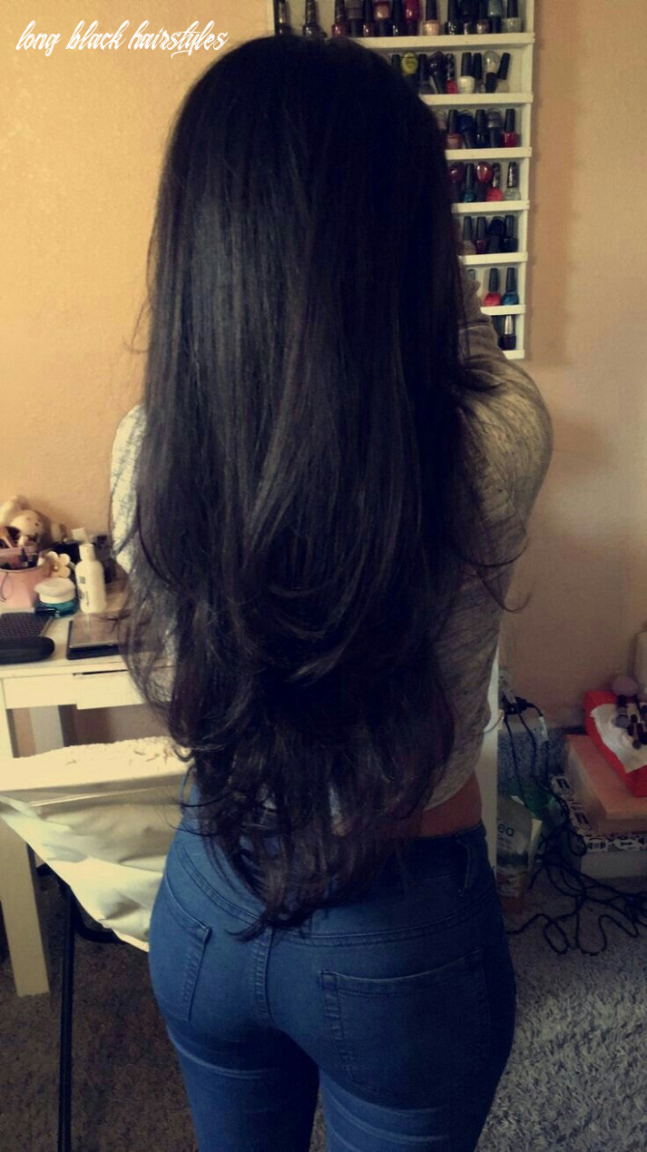 Pin on things i love long black hairstyles