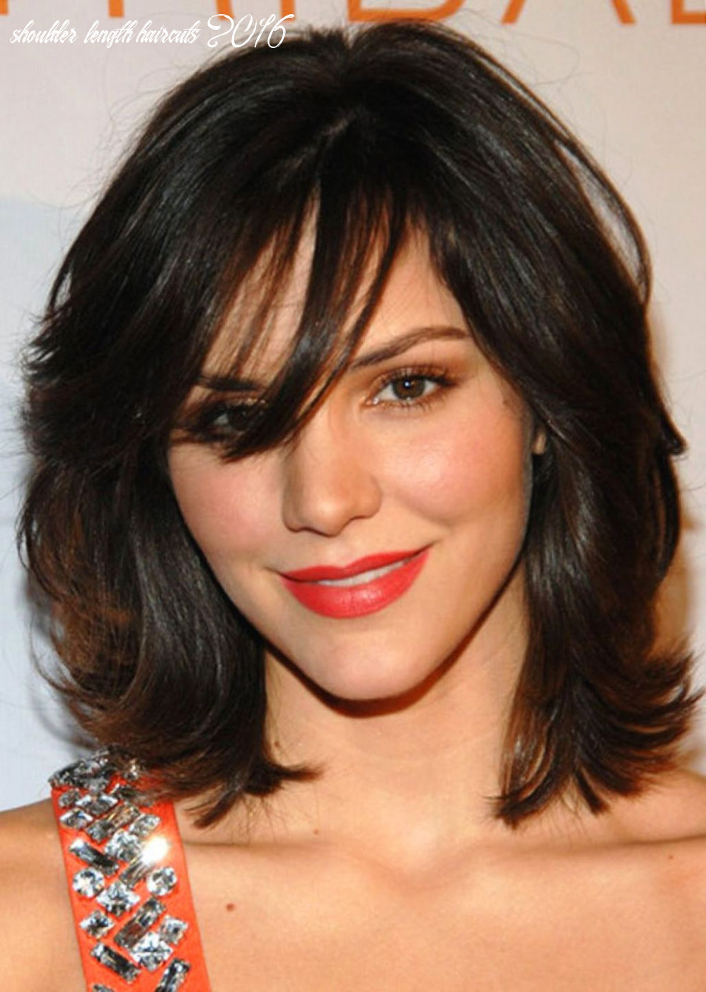 Pin on top hairstyle shoulder length haircuts 2016