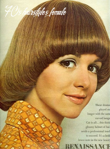 Pin on vintage fashion 70s hairstyles female