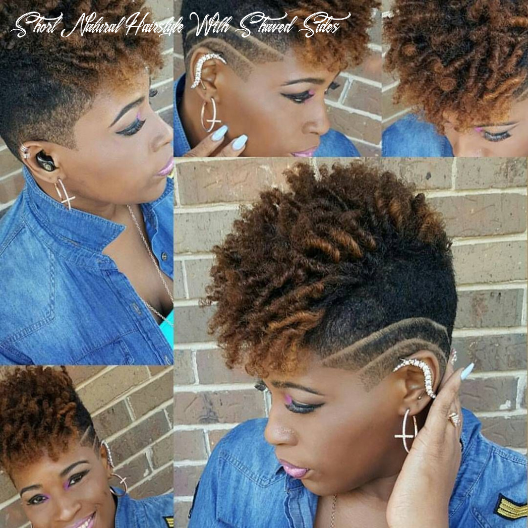 Pin on when i go short short natural hairstyle with shaved sides