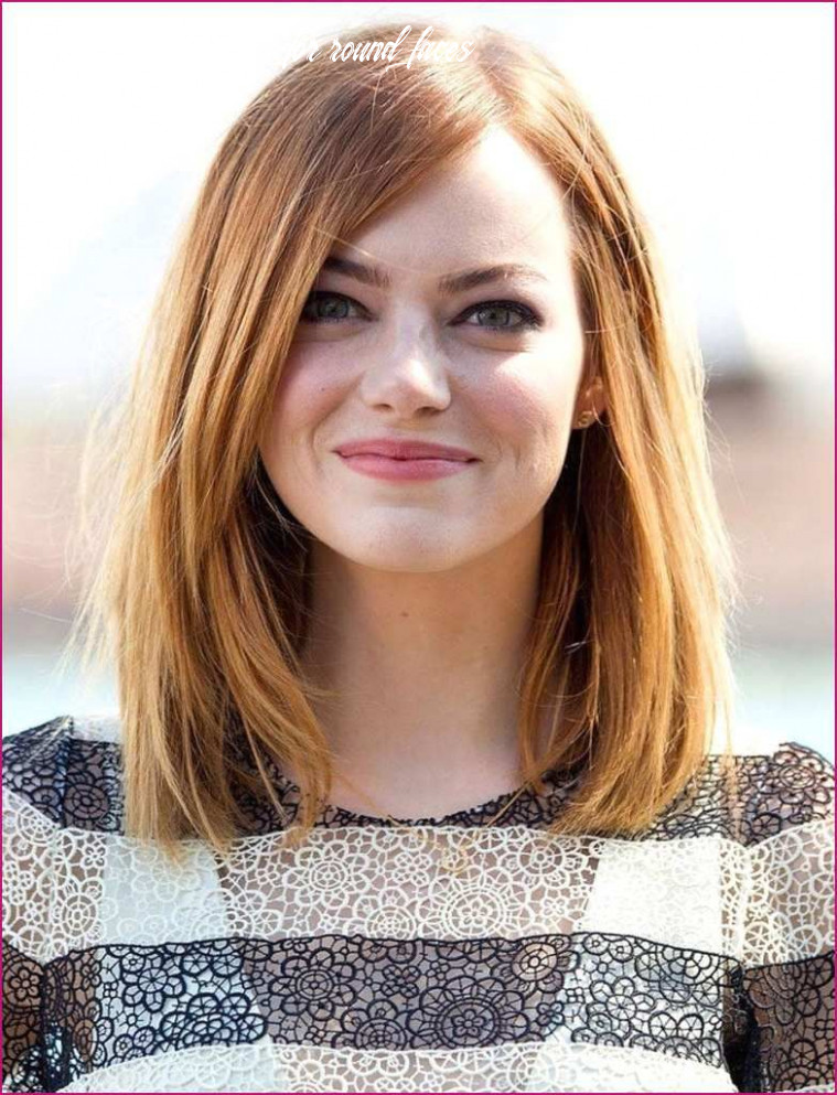 Pin on women hairstyles mid length hairstyles for round faces