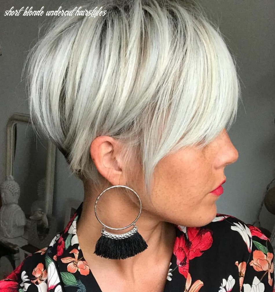 Pin on womens haircuts to show your stylist short blonde undercut hairstyles