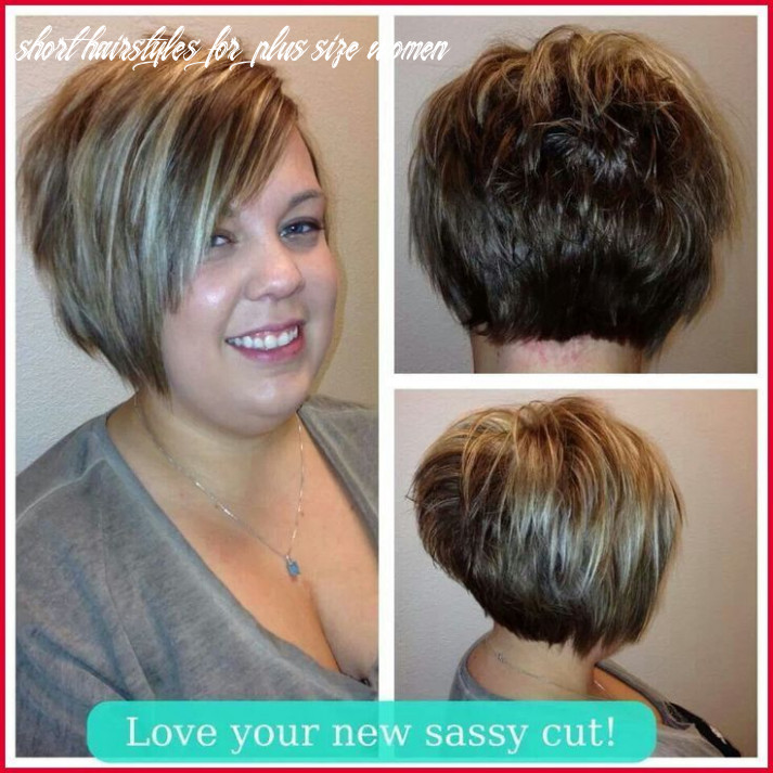 Pin on womens nails short hairstyles for plus size women