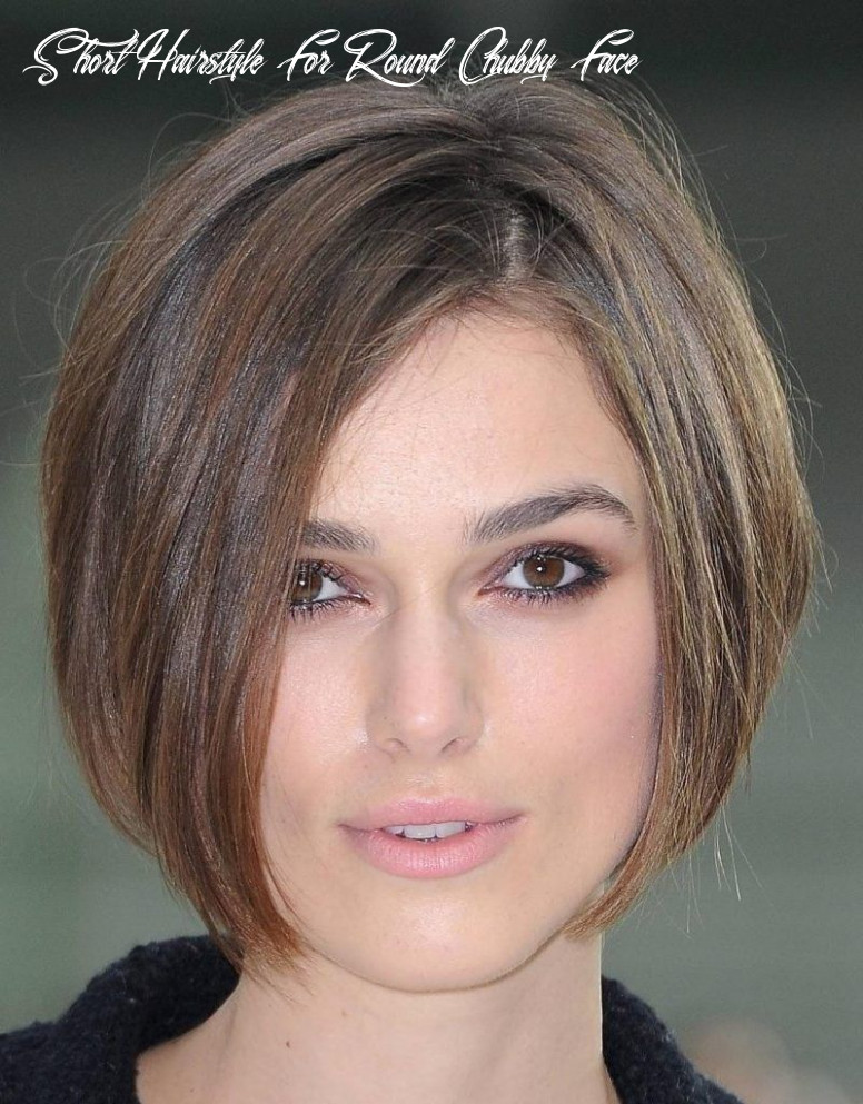 Pin op hairstyle short hairstyle for round chubby face