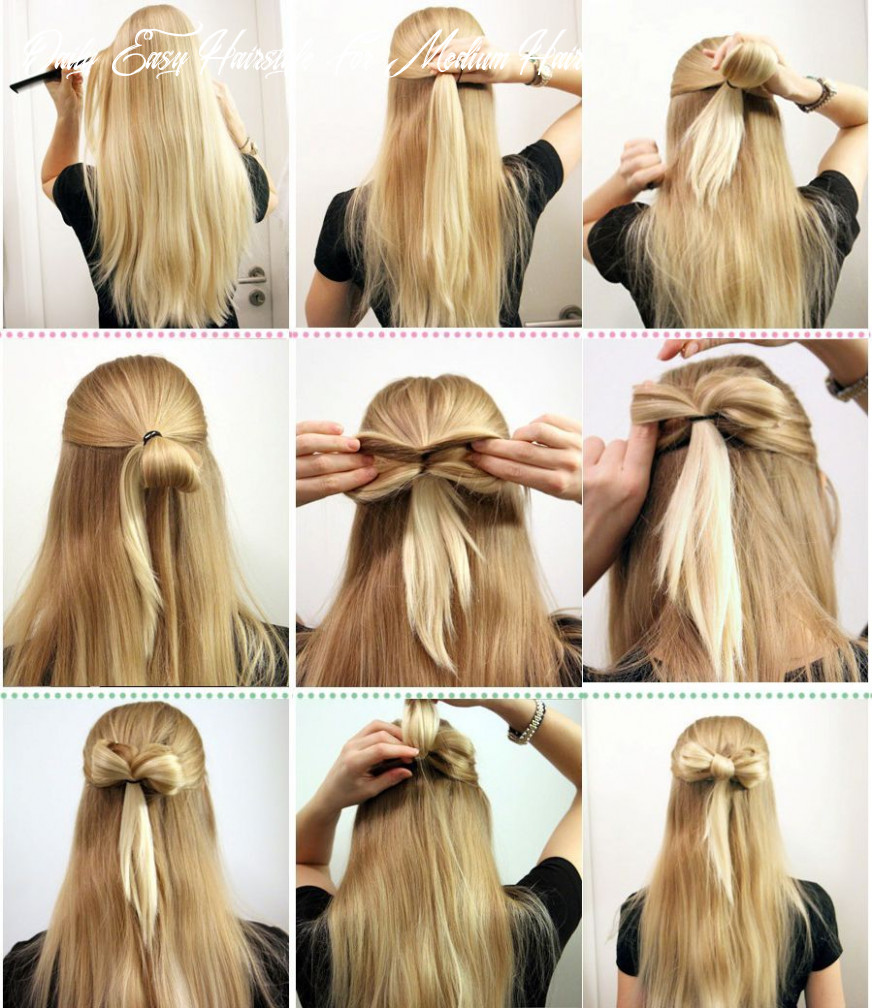 Pin på hair and hair accessories daily easy hairstyle for medium hair