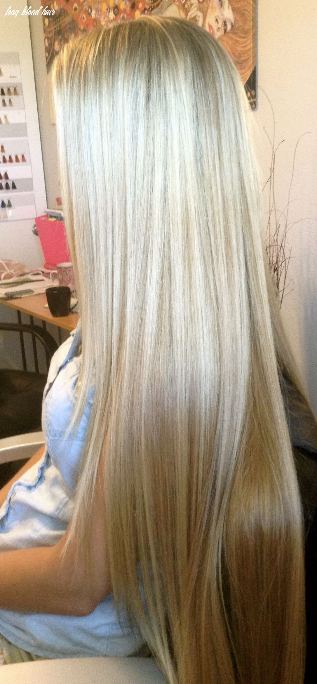 Pinning just because this is possibly the most gorgeous long blond