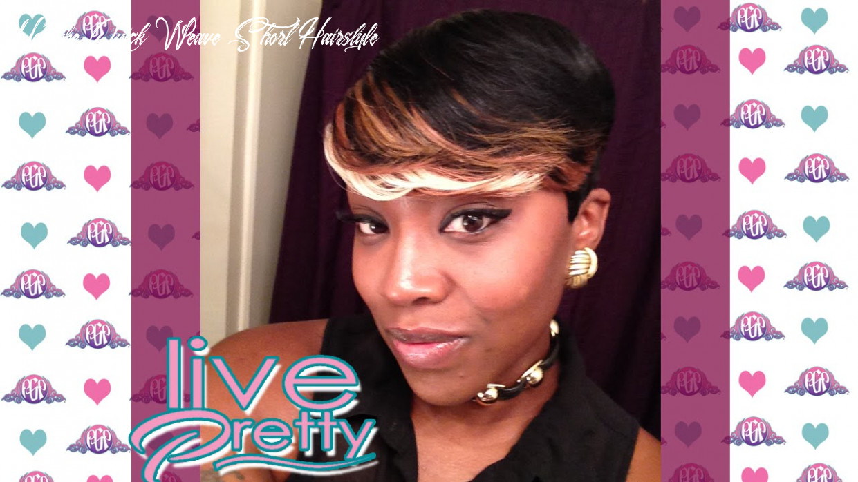 Pixie cut quick weave tara 9,9,9 hair youtube quick weave short hairstyle