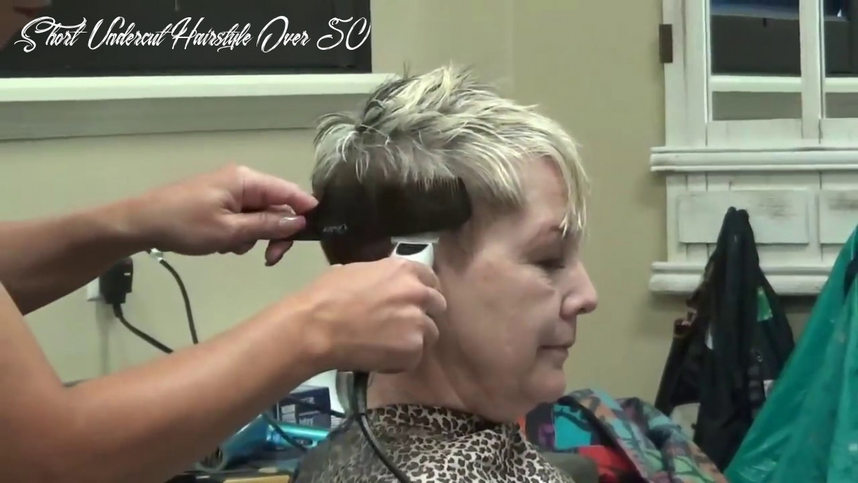 (Pixie Haircut) Older Women Short Hairstyles Over 8