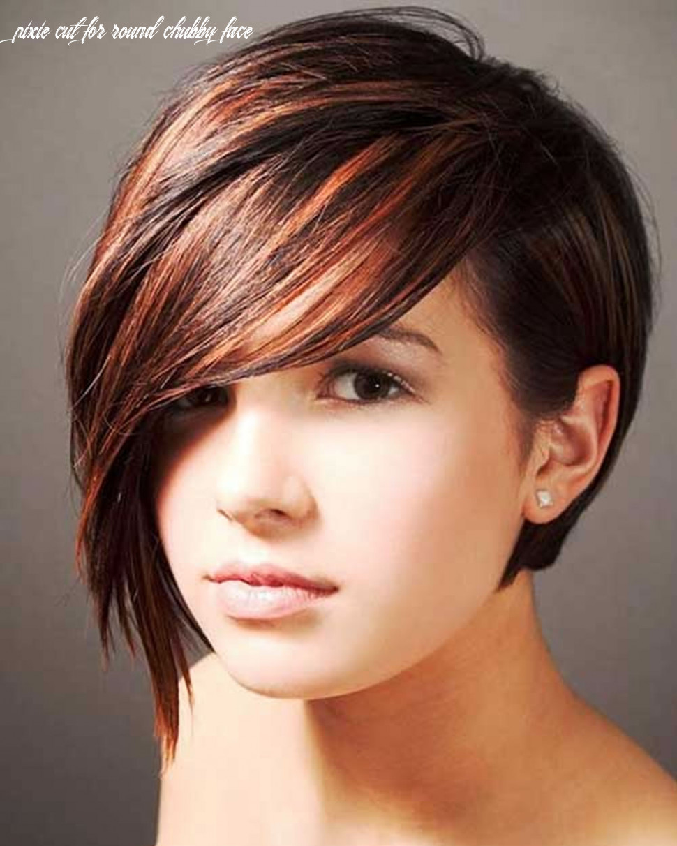 Pixie haircuts for fine hair and round faces لم يسبق له مثيل الصور