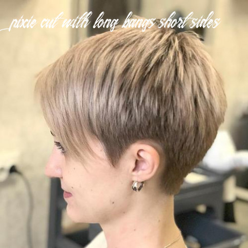 Pixie haircuts with bangs – 12 terrific tapers pixie cut with long bangs short sides