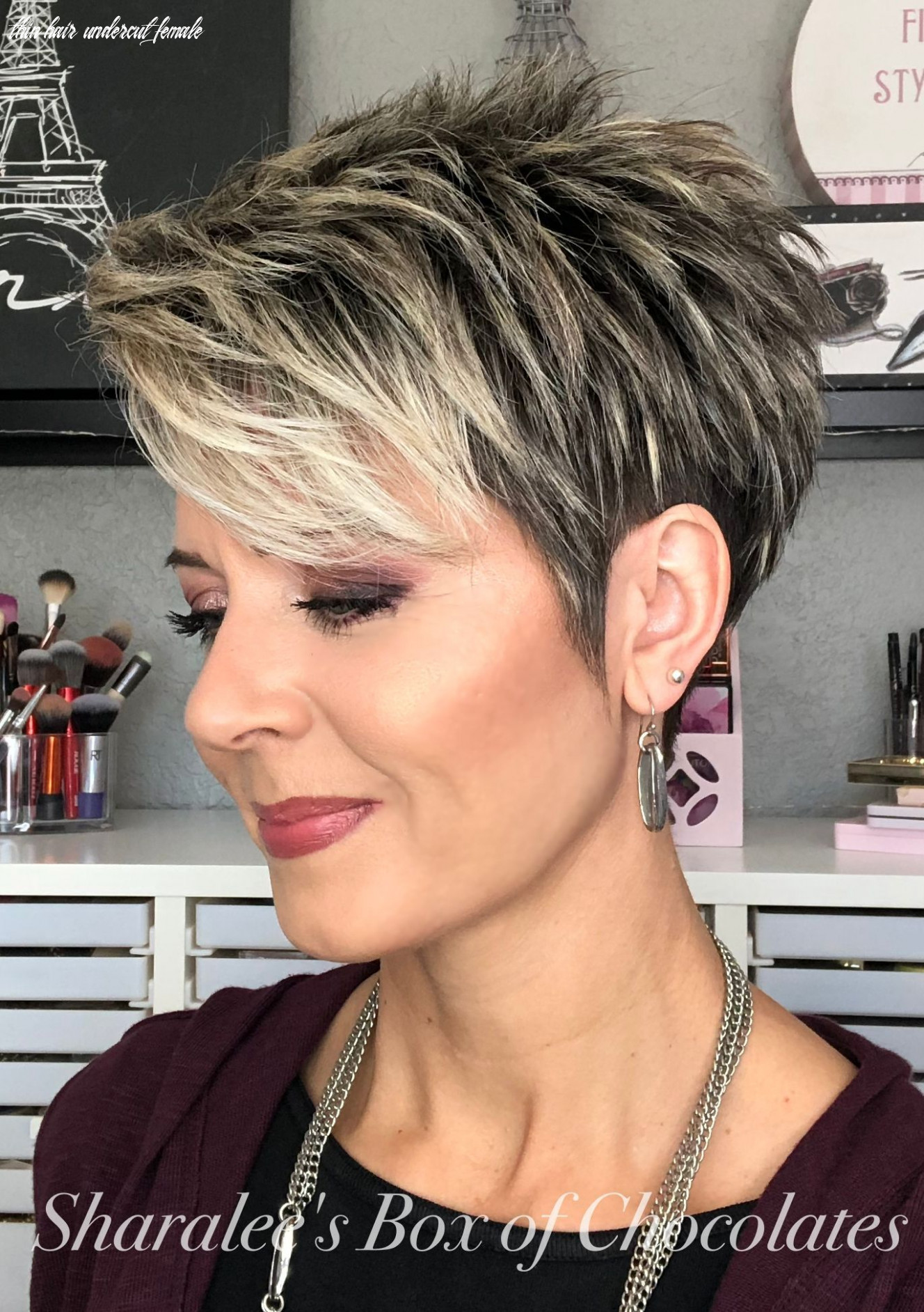 Pixie with undercut #hair #hairstyle #hairstyle hombres #pelo
