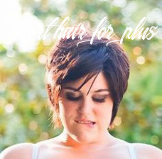Plus size models with short hair google search | short hair