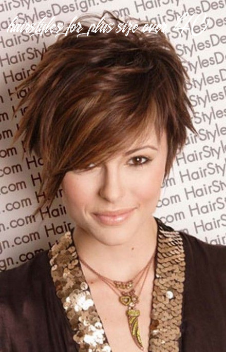 Plus size short hairstyles for women over 11 | simple your
