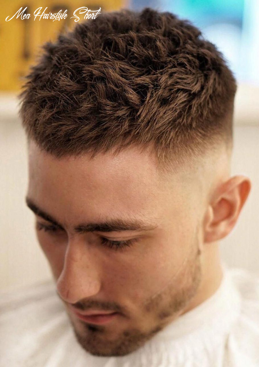 Popular haircuts for short hair men | mens haircuts short, mens
