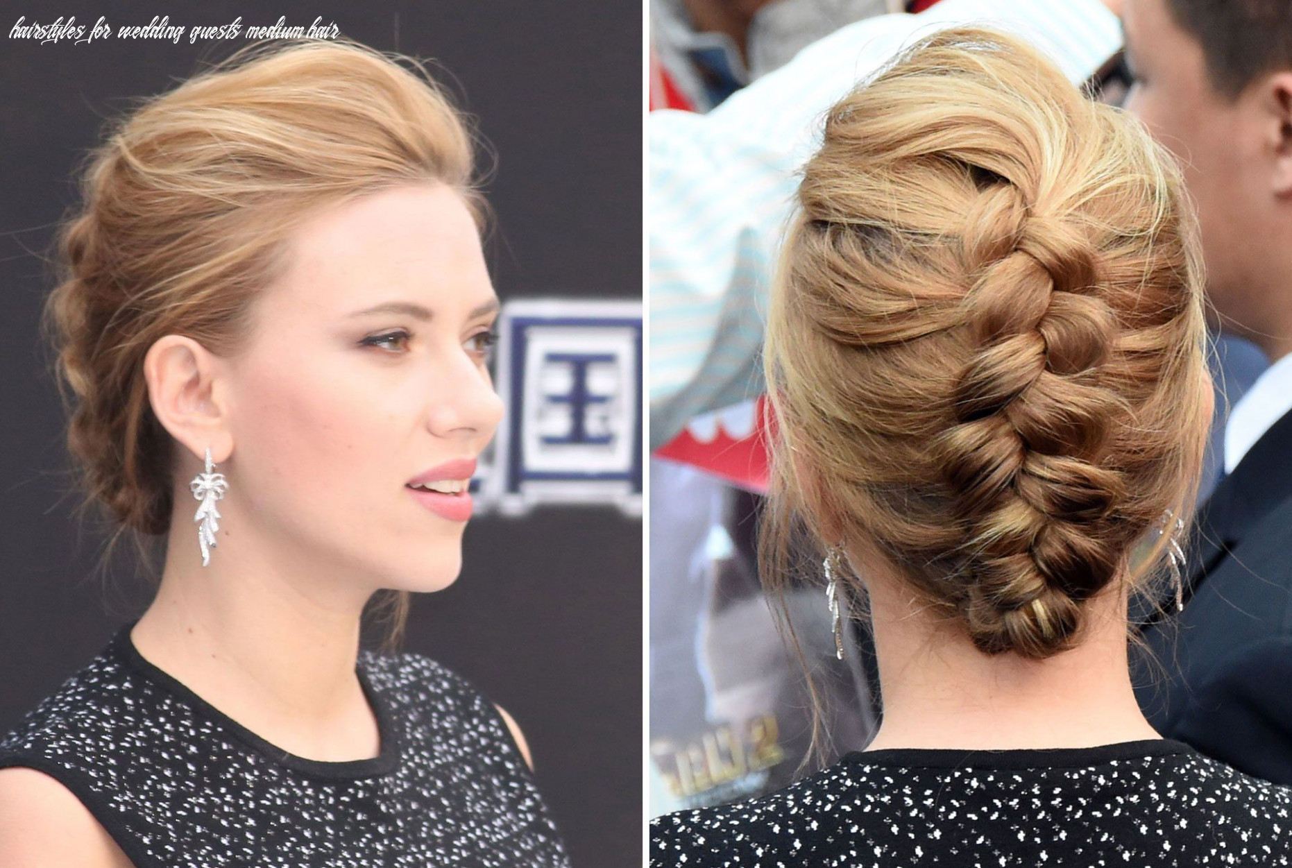 Popular Wedding Guest Hairstyle For Long Hair Blogfinest Short ...