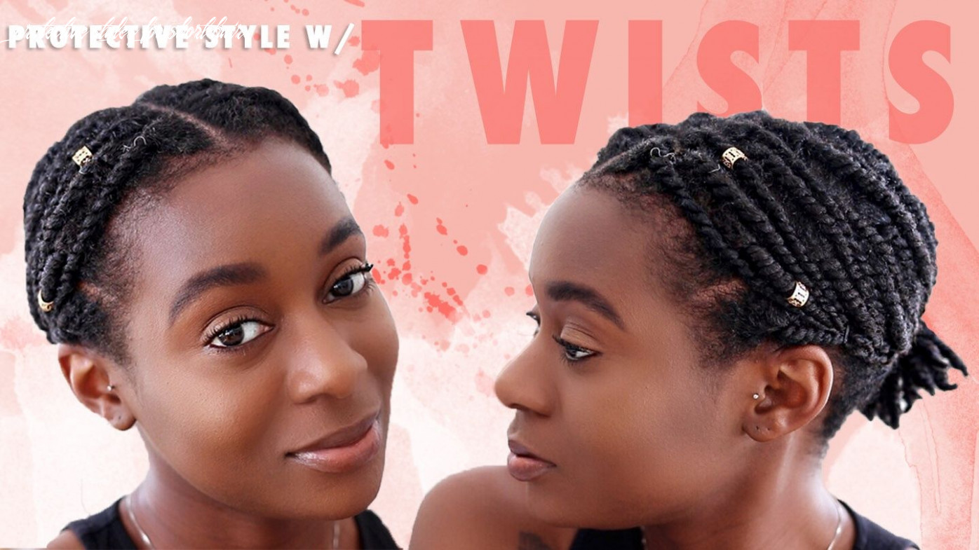Protective styles for short hair | hair twist styles, short