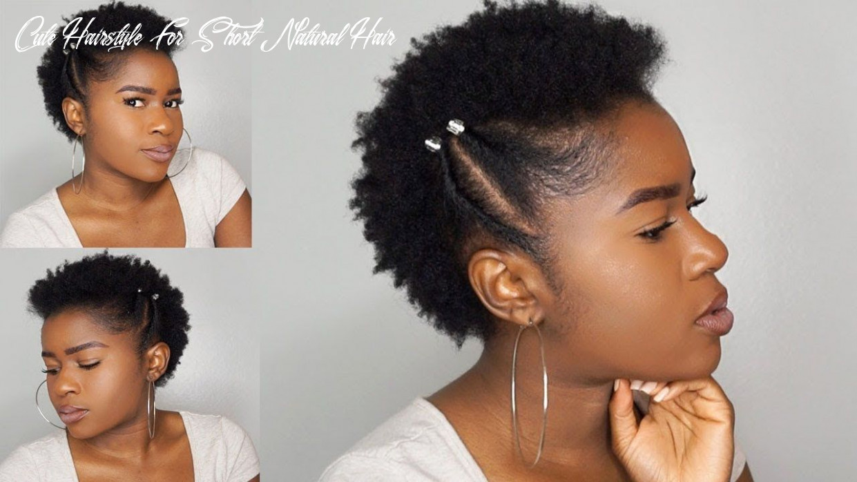 Quick & simple twisted frohawk on short (twa) 11c natural hair