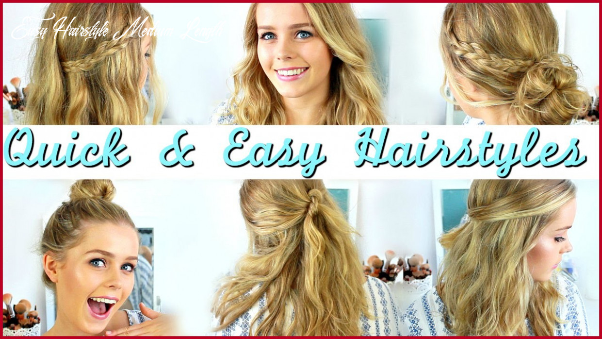 Quick and Easy Hairstyles for Medium Hair for School 9 Ideas ...
