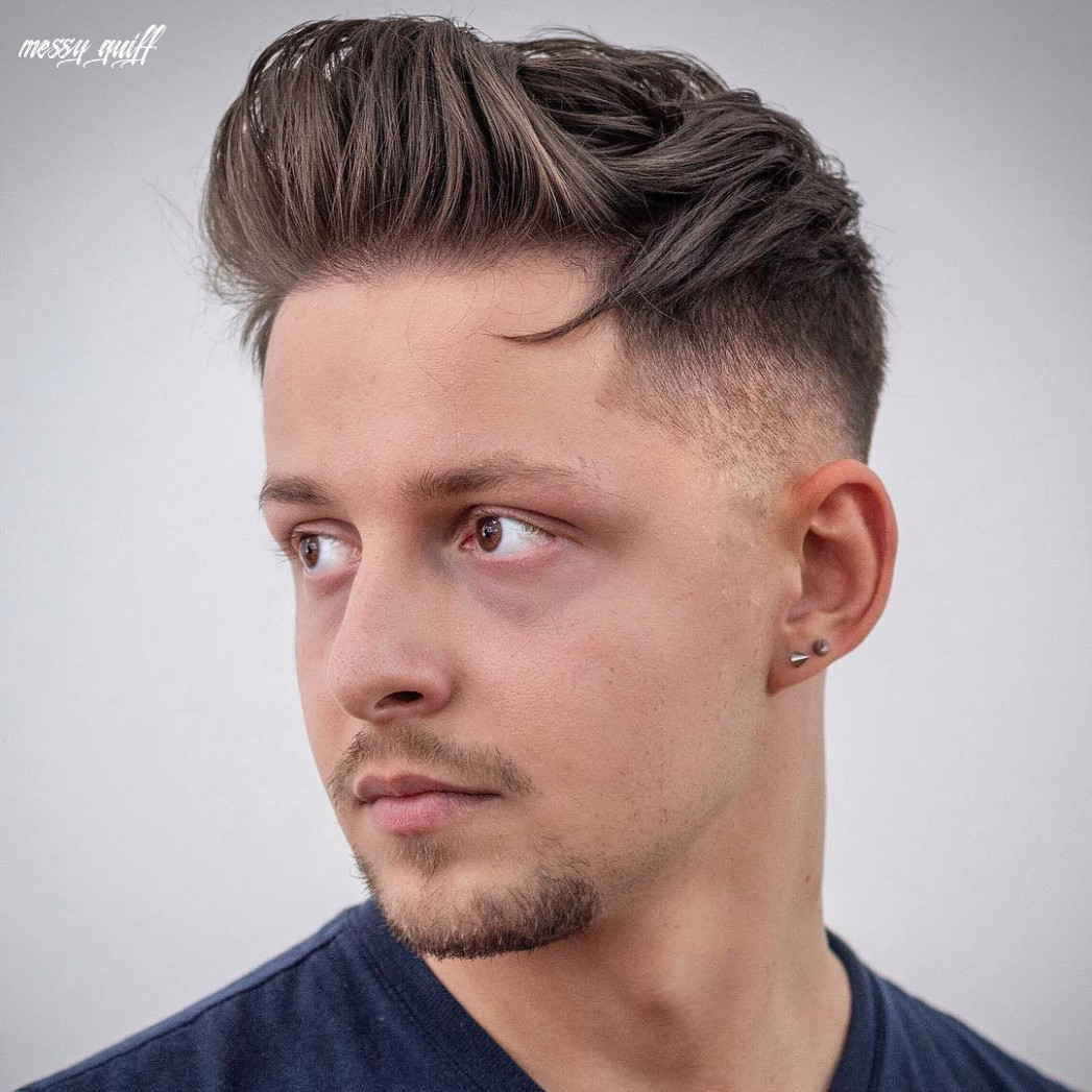Quiff haircut: 11 cool styles for men to get in 11 messy quiff