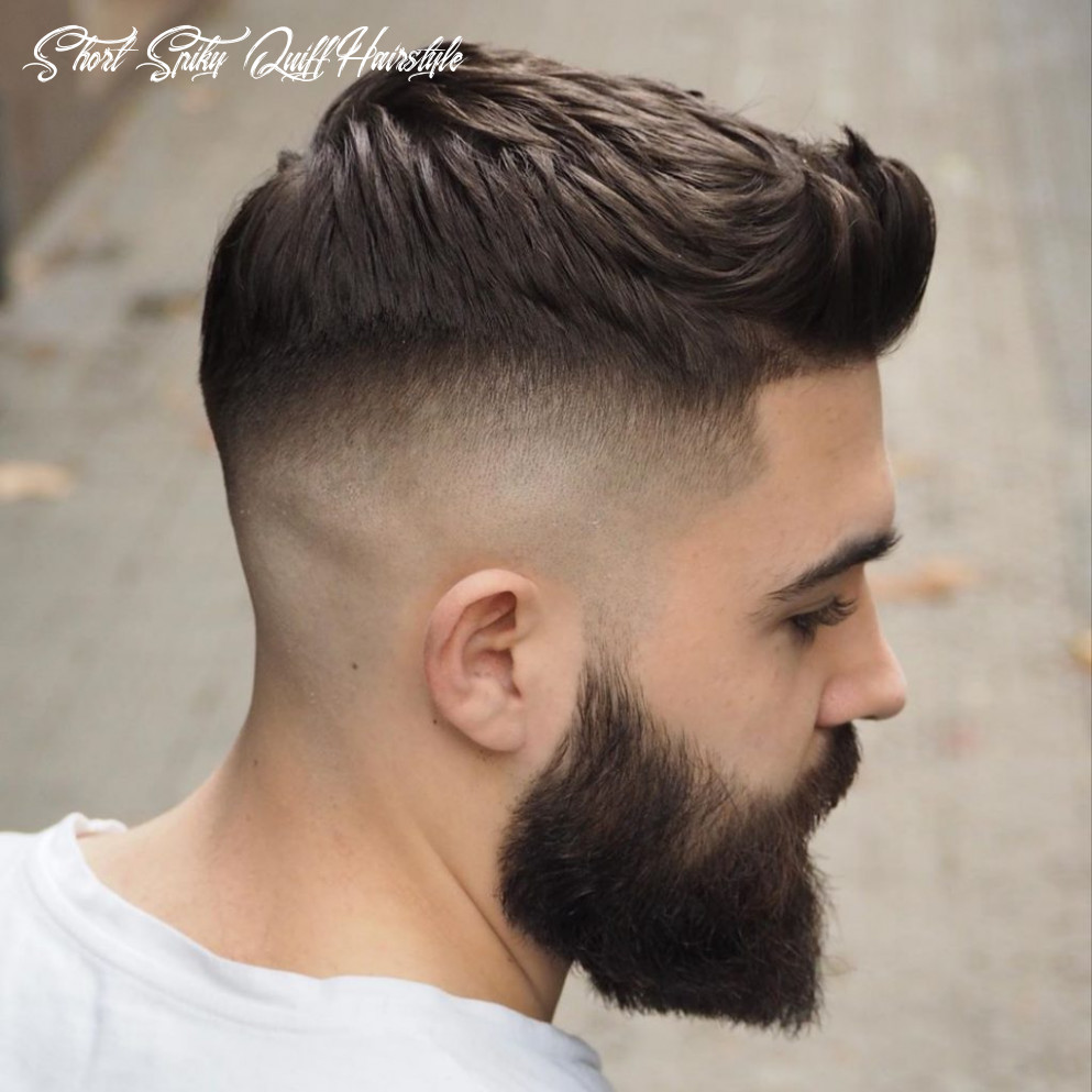 Quiff haircut: 9 cool styles for men to get in 9 short spiky quiff hairstyle
