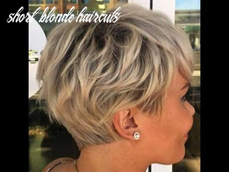 Really pretty 9 short blonde hairstyles alhairstyles 9 short blonde haircuts