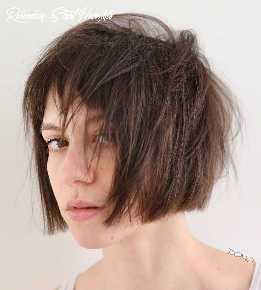 Rebonding short hairstyle best of bob cut no fringe photos rebonding short hairstyle