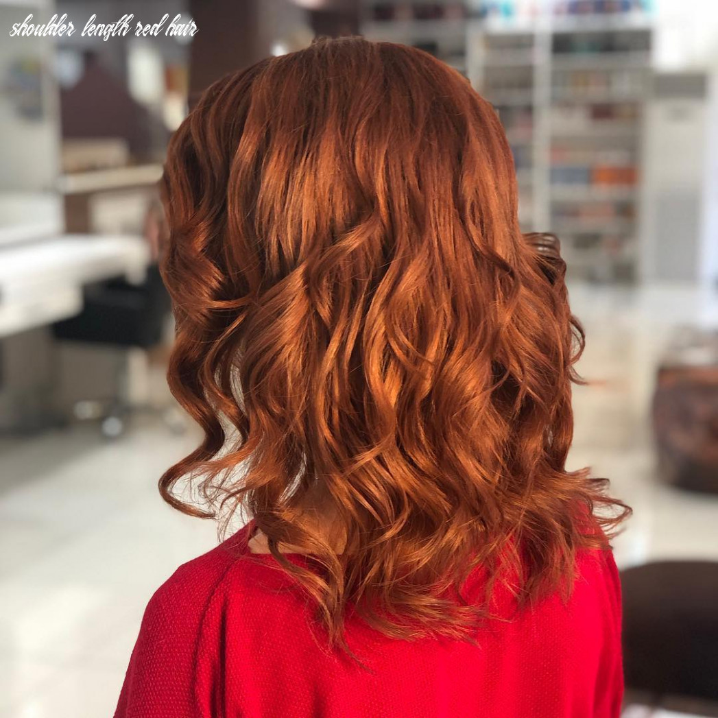 Red shoulder length hair | find your perfect hair style shoulder length red hair