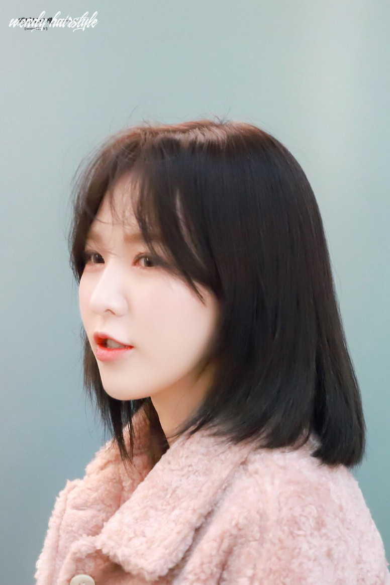 Red velvet`s wendy literally stunned with a hairstyle she recently