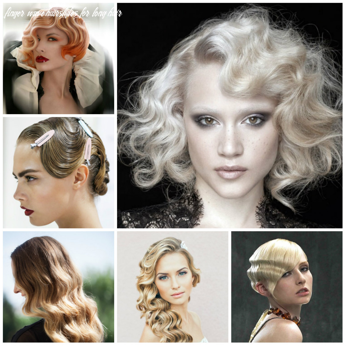 Retro finger wave hairstyles 8 | 8 haircuts, hairstyles and