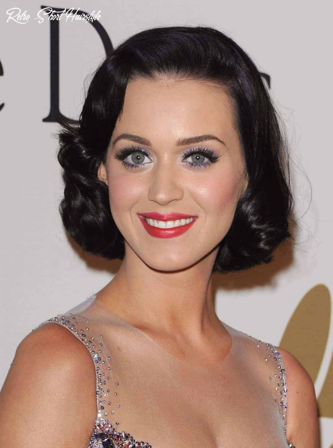 Retro hairstyles for beautiful short hair 8 - Womenstyle.com