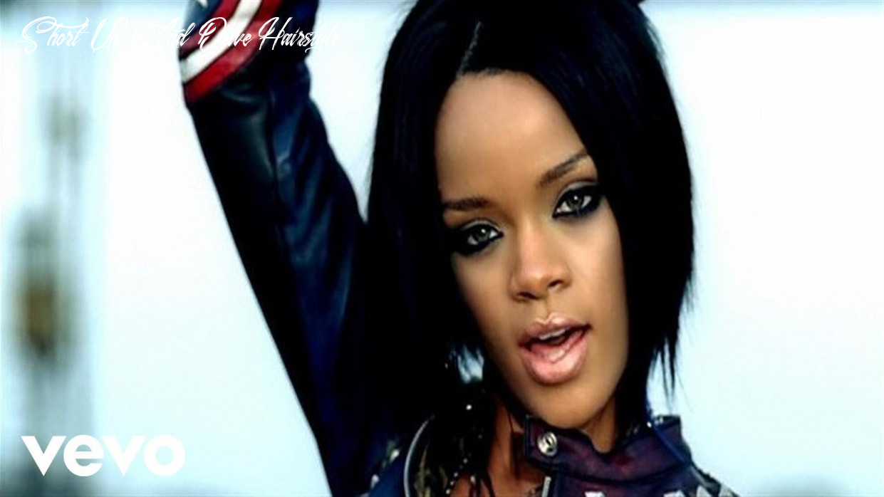 Rihanna shut up and drive short up and drive hairstyle