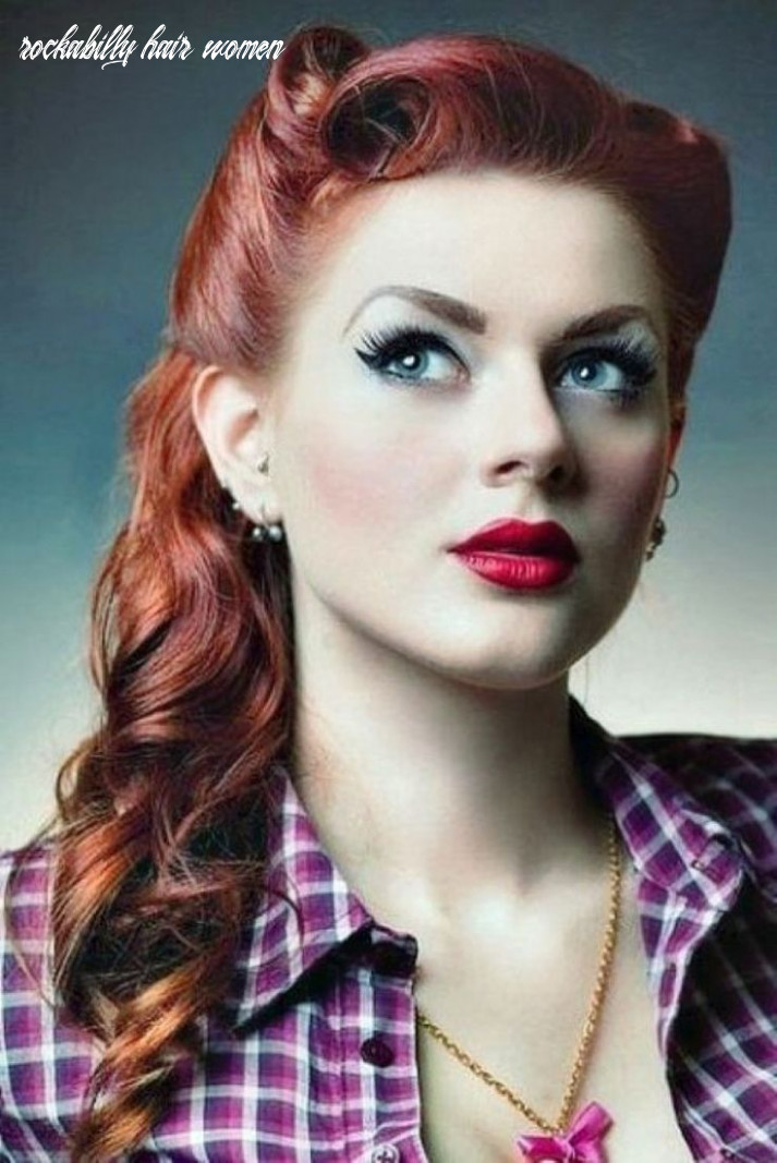 Rockabilly hairstyle women google search | 11s hairstyles