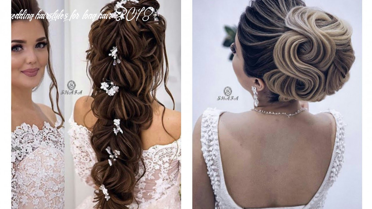 Romantic wedding hairstyles 8 wedding hairstyles for long hair 2018