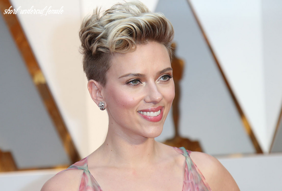 Scarlett johansson short hair: bob, pixie, undercut & more