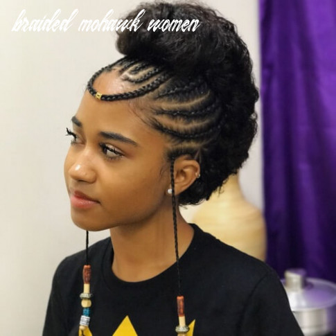 See 9 ways you can rock braided mohawk hairstyles | hair motive