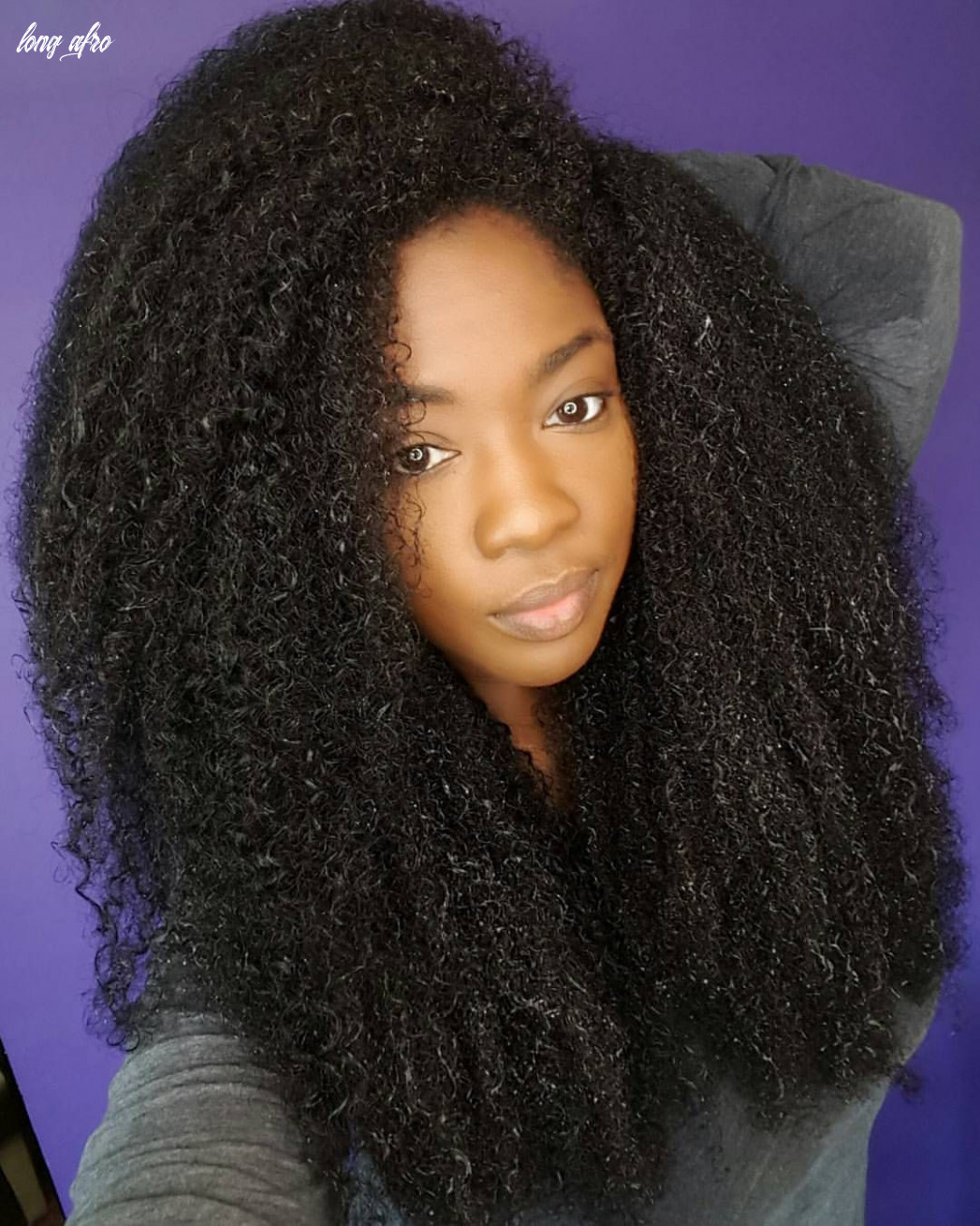 See this instagram photo by @dr kami • long afro hair long