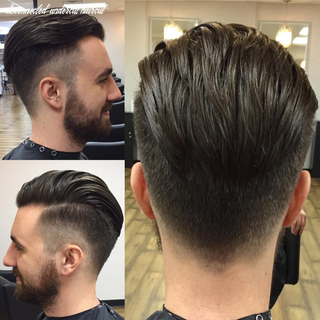 See tips to get this disconnected undercut with taper fade and