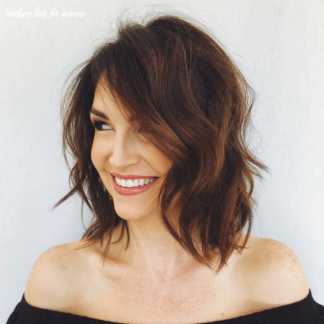 Sensational shoulder length haircuts, women medium hairstyles for