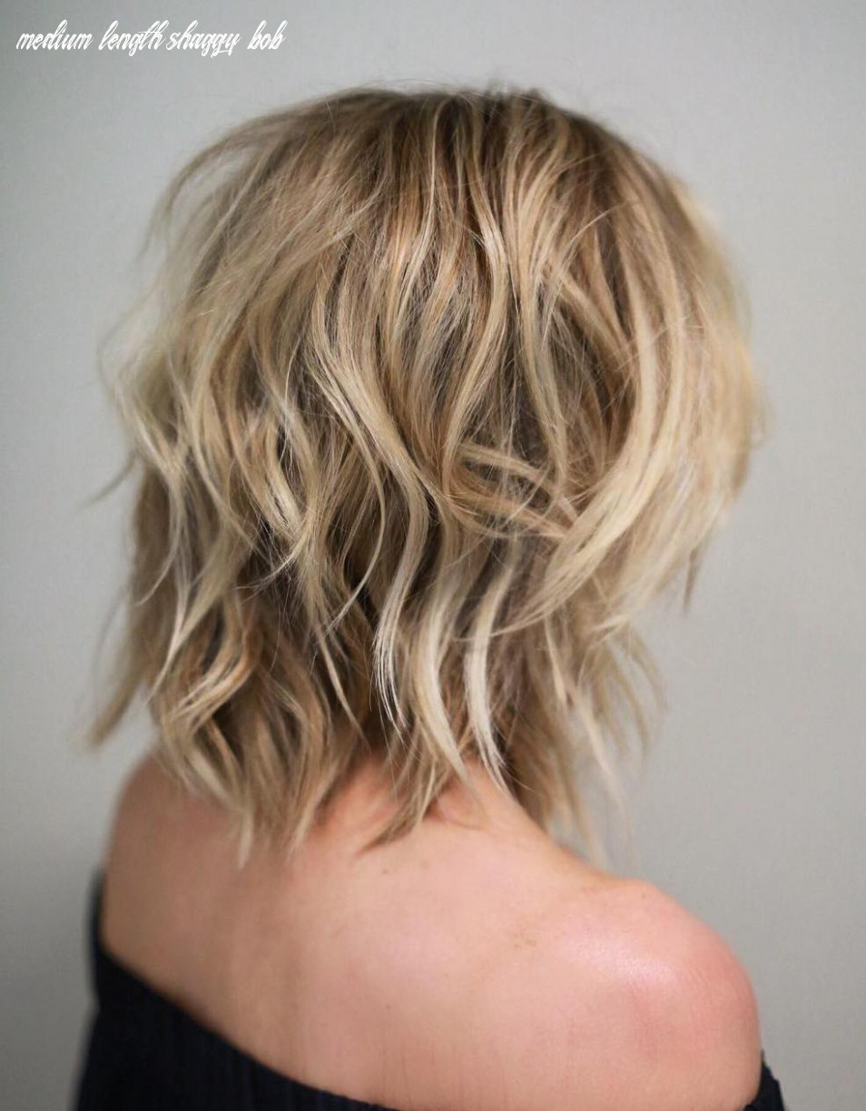 Shag haircuts and hairstyles in 10 — therighthairstyles medium length shaggy bob
