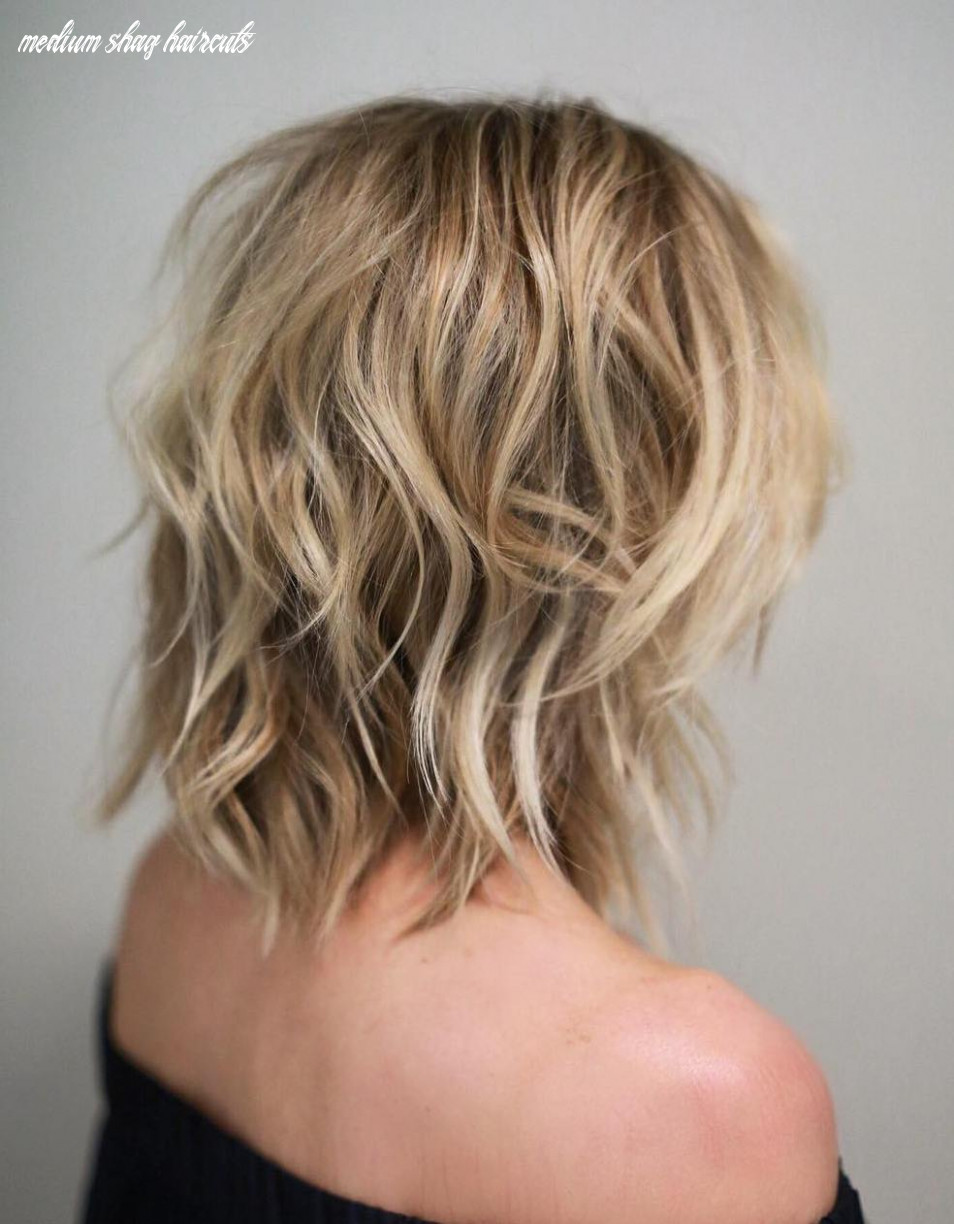 Shag haircuts and hairstyles in 11 — therighthairstyles medium shag haircuts