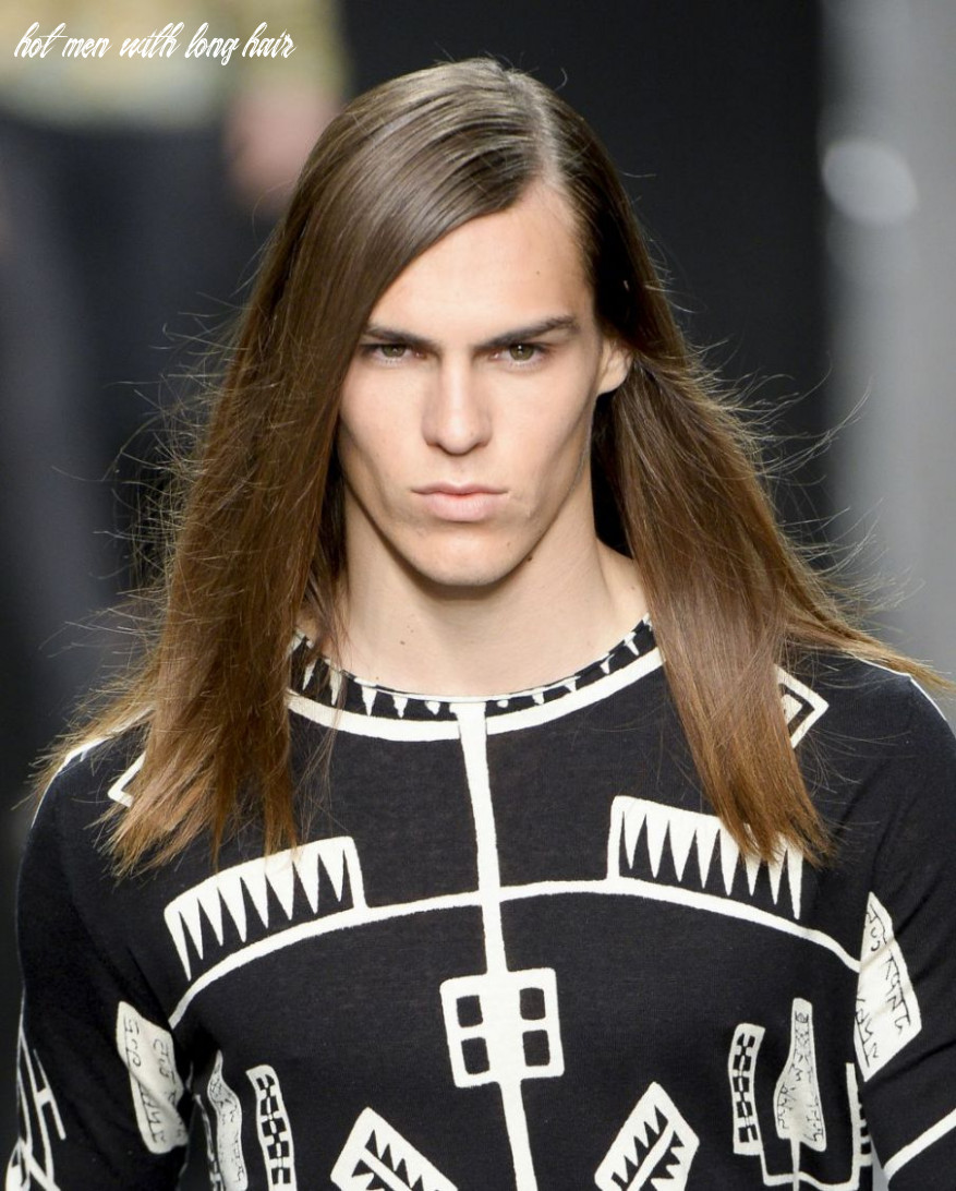 Shaggy bangs with long hair | find your perfect hair style hot men with long hair