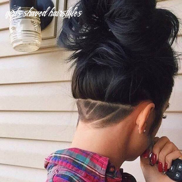 Shaved, back shave, girl, hair, #unique #hairstyles | hair styles