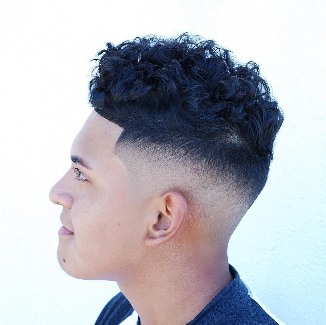 Shaved sides haircuts > 11 cool fade styles for 11 shaved sides curly on top